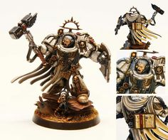 The Internet's largest gallery of painted miniatures, with a large repository of how-to articles on miniature painting Warhammer 40k Figures, Warhammer Models, Warhammer 40k Miniatures, Warhammer Fantasy, Warhammer 40000, Silly Games, Grey Knights, Minis, Fantasy Battle