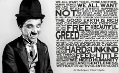 Charlie Chaplin - The Great Dictator