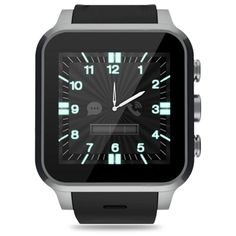 """LIFETIETM Executive Health Monitoring Smart Watch Phone (Silver). Android OS Smart Watch Phone (NowireusaTM Factory Unlocked for North America), 1.54"""" Capacitive Touch Screen OLED 240*240 pixels. 5MP High Definition,T-Flash Card up to 128GB. HIPAA & HITECH Compliance Cloud, Heart rate monitoring, sleep monitoring. MP3, MP4, Recording, Ringtone, PTT, FM. Waterproof, GPS Tracker, Sport/Fitness."""