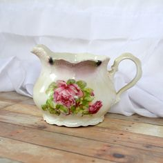 Leutchenburg Germany pink shabby chic rose and by TheCastOffQueen