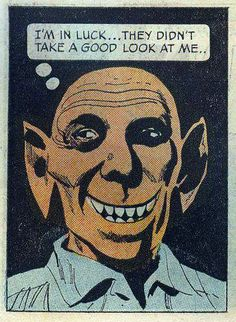 Bat Boy finally gained acceptance as he left the  pages of the National Enquirer... Next stop , Hollywood ! Perhaps the new Batman movie ..or not .