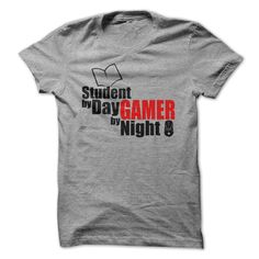 Student by day Gamer by Night - This makes a perfect gift for family and friends…