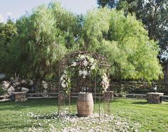 Lake Oak Meadows ceremony site   Rentals and Styling: Madam Palooza  Venue: Lake Oak Meadows  Coordinator: Celebrations by Di & Co.  Photographer: April Smith Photography