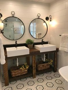 5 Most Popularity Double Sink Bathroom Vanity Ideas is part of Barn bathroom It& initial point in the early morning You have actually fast stumbled still half asleep towards your master shower roo - Barn Bathroom, Diy Bathroom Vanity, Best Bathroom Vanities, Double Sink Bathroom, Large Bathrooms, Bathroom Furniture, Amazing Bathrooms, Modern Bathroom, Small Double Sink Vanity