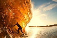 surfing in gold!