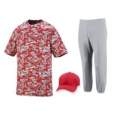DIGITAL CAMO BASEBALL UNIFORM SET - 1799/SET