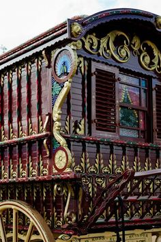 Gallery of Bruce Weier Woodcarving on Gypsy Ledge Wagon Gypsy Trailer, Gypsy Caravan, Gypsy Wagon, Gypsy Life, Gypsy Soul, Caravan Decor, Caravan Ideas, Gypsy Living, Fairy Houses