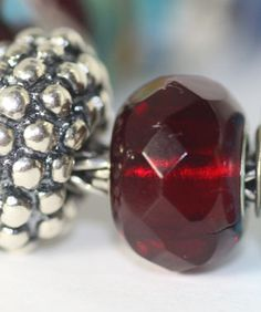 Red is my favorite color, after all.  Ruby red and silver are a perfect combination to add to your #trollbeadswishlist