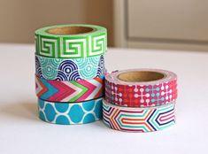 new Jonathan Adler washi tape Tapas, Jonathan Adler, Wrapping Ideas, Duct Tape, Masking Tape, Diy And Crafts, Arts And Crafts, Paper Crafts, Washi Tape Crafts
