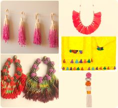 #tassel tasia inspiration from Home and Tribe