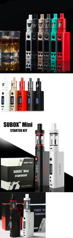 Other Gadgets: Hot Sale Evic Vtc Mini 75W / Sunbox 50W Tc Box With Tron-S Tank Starter Kit Set -> BUY IT NOW ONLY: $34.95 on eBay!