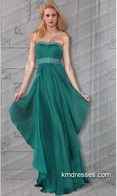 flowing Beaded  floor length Empire Waist Chiffon prom gown.prom dresses,formal dresses,ball gown,homecoming dresses,party dress,evening dresses,sequin dresses,cocktail dresses,graduation dresses,formal gowns,prom gown,evening gown.