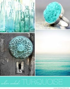 Color Coded: Turquoise