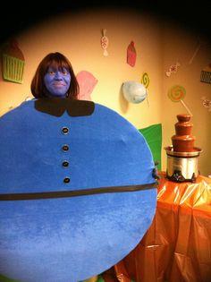 Violet Beauregarde Halloween/ Festival Fancy Dress Costume