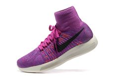 Spring Summer 2018 Cheapest WMNS Nike LunarEpic Flyknit Fuchsia Flash  Persian Violet Medium Violet 818677 500