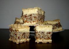 Prajitura NAȘA Krispie Treats, Rice Krispies, Nasa, Tiramisu, Sweets, Cooking, Bun Bun, Ethnic Recipes, Desserts