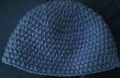 Fresh off my hook simple crochet beanie