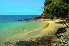 Kaw Kwang Cape, Koh Lanta, Thailand. A small, private beach on the cape at Kaw Kwang gives access to guests of Crown Lanta Resort.