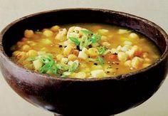 Severoafrická cizrnová polévka Cheeseburger Chowder, Soup, Ethnic Recipes, Soups