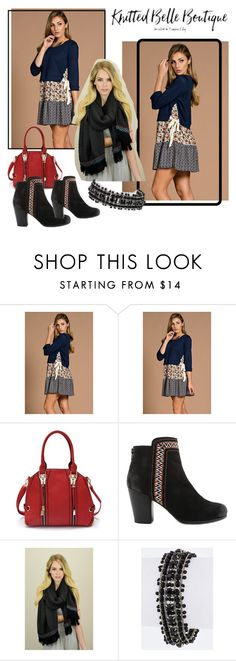 """""""Knitted Belle Boutique -II/3"""" by nihada-niky ❤ liked on Polyvore featuring Leto and knittedbelleboutique"""