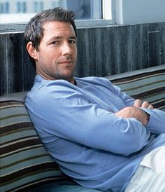 EDWARD BURNS.   Related: Like I need another reason to be jealous of Christy Turlington. {sigh}