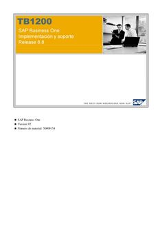 Manual de Soporte SAP
