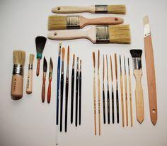 Sign Writing Brushes