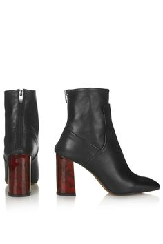 MASTER Tortoiseshell Heel Boots - New In This Week - New In - Topshop Europe