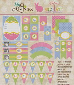 Dulce Kit para Pascua, para Imprimir Gratis.