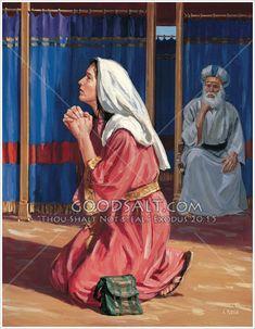 Lds Jesus Christ Pictures, Bible Pictures, Hannah Bible, Samuel Bible, Bible Verse Coloring Page, Bible Crafts For Kids, Biblical Art, Bible Teachings, Faith Prayer