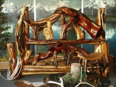 Our friends, Ken and Cathy Lindstrom's Spirit Mountain Antler and Log Design video, Salida, CO