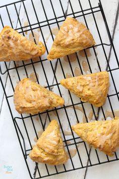 pumpkin scone recipe. regular, gluten free, and paleo recipes in one post.