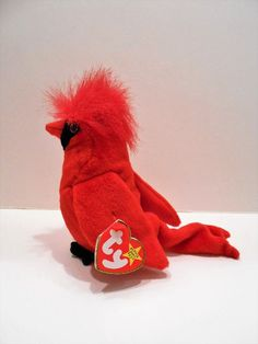 03760a6a3b9 Cool item  Mac the Cardinal TY Beanie baby