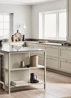 Reflecting the very essence of their brand, Swedish Kitchen Company Nordiska Kök have created the Nordic Kitchen. Swedish Kitchen, Nordic Kitchen, Scandinavian Kitchen, Home Decor Kitchen, Kitchen Interior, Scandinavian Design, Eclectic Kitchen, French Kitchen, Interior Livingroom