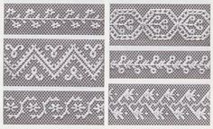 Lace Net Embroidery Embroidery on Tulle and Net by by BuzzyVintage Tambour Embroidery, Embroidery Needles, Beaded Embroidery, Cross Stitch Embroidery, Hand Embroidery, Needle Lace, Bobbin Lace, Lace Patterns, Embroidery Patterns