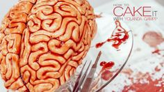 How To Cake It made a super-realistic gory brain cake, and you can too
