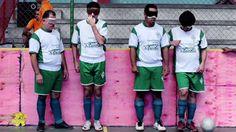 Blind Soccer team in Brasil- Truly inspiring story.