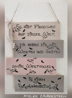 Wood Art, Hand Lettering, Signs, Words, Creative, Home Decor, Blue Prints, Atelier, Quotes