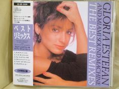 CD/Japan- GLORIA ESTEFAN & MIAMI SOUND MACHINE Best Remixes w/OBI RARE 1989 OOP #LatinPopDancePop