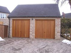 SWR Timber Garage Door Install