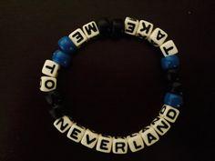 Take Me To Neverland Kandi Bracelet by KandilandUSA on Etsy