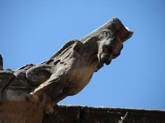 Gargoyles in the province of Cáceres - Spain