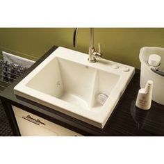 sink in the laundry room with jets so you can wash delicates without ...