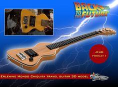 Erlewine Chiquita travel Guitar