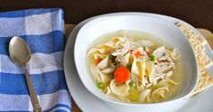 This classic soup is full of flavor without taking too much time out of the day! http://greatist.com/eat/recipes/hearty-chicken-and-vegetable-soup