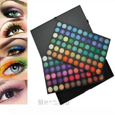 120 Full Color Eye Shadow Eyeshadow Shimmer Cosmetic Makeup Palette Set USA SHIP #UnbrandedGeneric