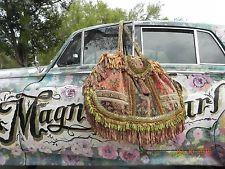 ❤VERY SPECIAL Magnolia Pearl LARGE Suitcase Purse❤Antique Carpet Bag OOAK❤