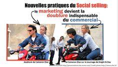 Les nouvelles règles du social selling: le marketing devient la doublure du commercial