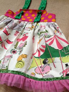 Circus Knot Dress by harperhewitt on Etsy, $35.00