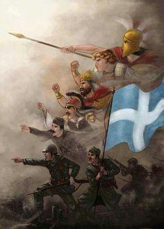 Hellenic Army, Greek Independence, Greece Photography, Greek Warrior, Propaganda Art, Greek History, Greek Culture, Picture Icon, Ancient Greece